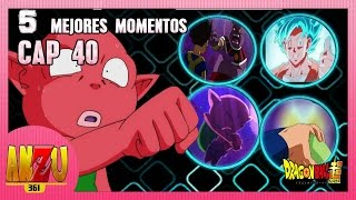 DRAGON BALL SUPER CAPITULO 40 | LOS 5 MEJORES MOMENTOS | REVIEW | ANZU361