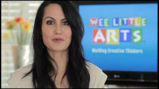 Wee Little Arts, a premiere home based preschool art education business & franchise opportunity.