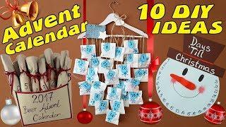 10 DIY Advent Calendar Idea / HOW TO!