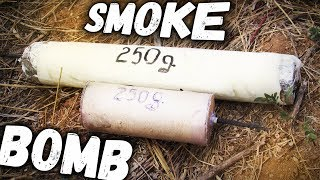 2 WAYS TO MAKE SMOKE BOMB
