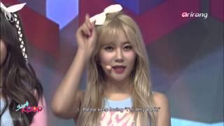 [160304] Rainbow, AOA Cream, Ladies code, WJSN cut- Simply K-Pop Ep 204