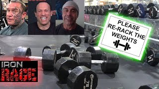 PEOPLE WHO DON'T RE-RACK WEIGHTS! Iron Rage