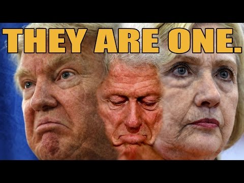 TRUMP vs. THE CLINTONS False Dichotomy Politics Exposed