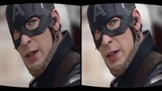 VR Video Full HD - Captain America in Civil War Official Trailer 2016
