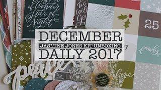 Unboxing | December Daily 2017 Jasmine Jones Mini Kit