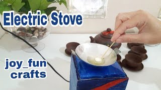 DIY miniature electric stove using soldering iron