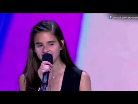 Carly Rose Sonenclar Original Audition for X Factor 2012 uncut with video HD