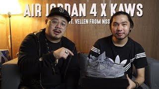 Air Jordan 4 x KAWS Review Ft. Vellen from North Sneaker Squad