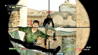 Uncharted 3 Multiplayer | Funny Fails and Epic Wins