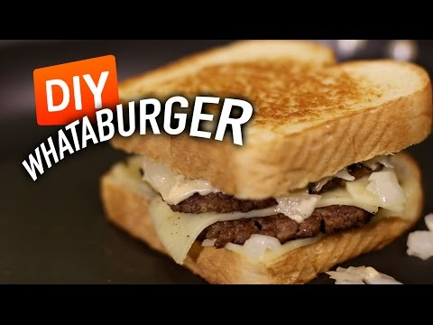 DIY WHATABURGER Patty Melt Feat. Mr. Pig