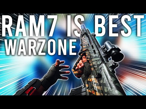 This is why the RAM7 is the Best Gun in Warzone now