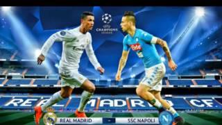 دوري ابطال اوربا ريال مدريد ضد نابولي في مباراة مصيريه Real Madrid vs Napoli 7-3-2017