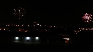 Fuegos artificiales navidad panama 2015