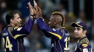 IPL 2016 | Kolkata Knight Riders vs Kings XI Punjab | Andre Russell Helps KKR Win By 7 Runs