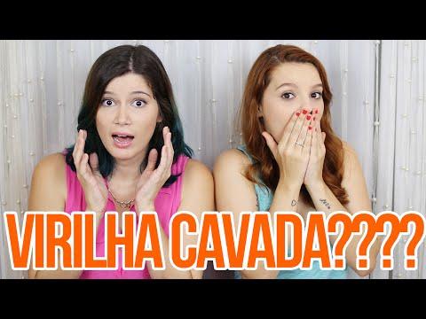 SemVergonha MINHA PRIMEIRA VEZ DEPILANDO VIRILHA CAVADA
