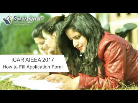 Learn How to fill ICAR AIEEA Application Form | Step by Step Guide