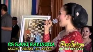 Lgm Bulan Bersedih, Indri Juara I Sinden Idol SCTV 2014
