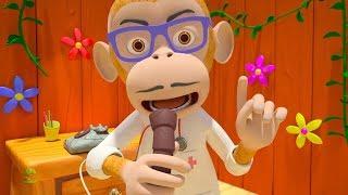Five Little Monkeys | Kindergarten Nursery Rhymes Songs for Kids | Cartoon by Little Treehouse