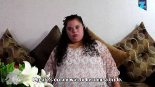 Parents host dream wedding for bride with down syndrome