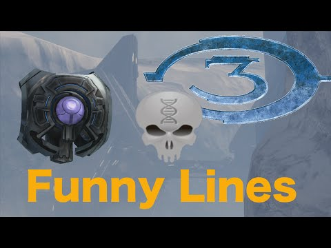Lines of Halo - 343 Guilty Spark (funny dialogue)