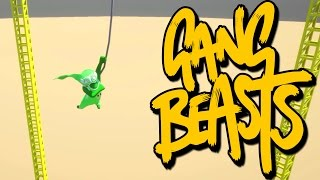 Gang Beasts - Hanging By A String [Father Vs Son]
