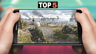 TOP 5 WAR GAMES FOR ANDROID!! 2019