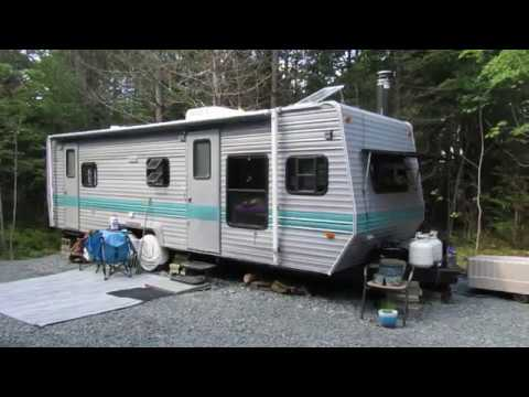 Canadian Chick Full Time in Off Grid Camper