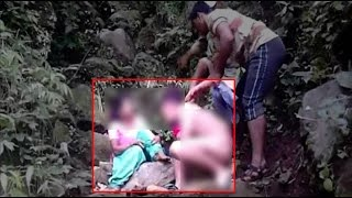 Young Couple beaten up by Pithoragarh gang,  Video Goes Viral