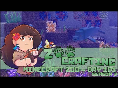 Breeding for Baby Dolphins with Nerine & Pavo!! || Zoo Crafting: Episode #101 || Season 3