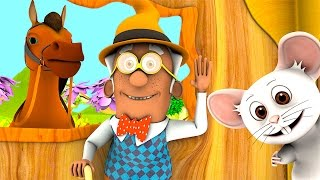 There was a Crooked Man | Nursery Rhymes Songs Collection | 3D English Kids Song by Little Treehouse