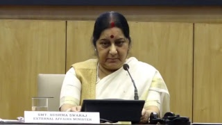 Annual Press Conference by EAM on completion of 3 years of Government