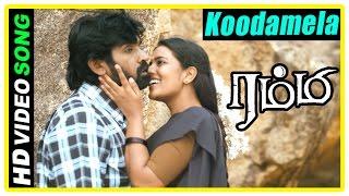 Rummy Movie Scenes | Koodamela Koodavechi Song | Aishwarya proposes to Vijay Sethupathi | D Imman