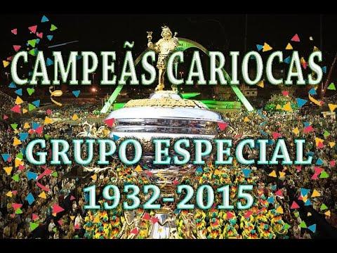Campeãs do Carnaval Carioca 1932 2015