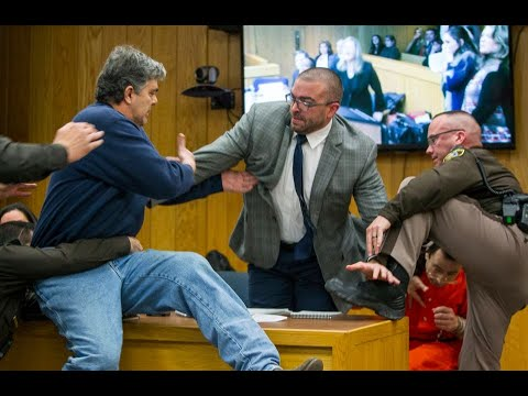 Xxx Mp4 Distraught Father Of 3 Victims Tries To Physically Attack Larry Nassar In Courtroom 3gp Sex