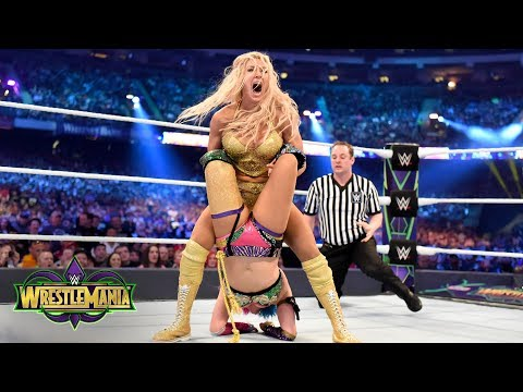 Xxx Mp4 Charlotte Flair And Asuka Fight Tooth And Nail For The SmackDown Women S Title WrestleMania 34 3gp Sex