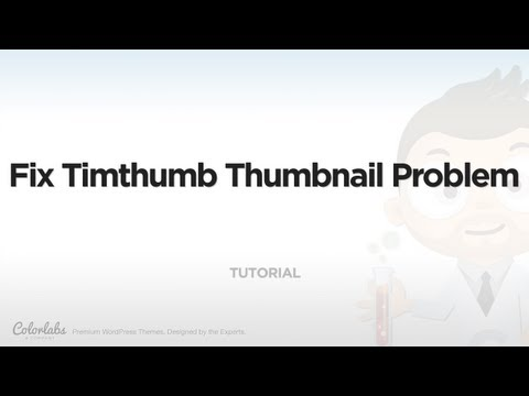 Tutorial: Fix Timthumb Thumbnail Problem