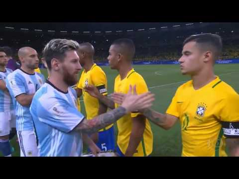 Xxx Mp4 Full Match Brazil Vs Argentina 2018 Fifa World Cup Qualifiers 11 10 2016 YouTube 3gp Sex