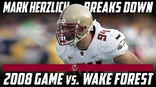 Mark Herzlich Looks Back at His Best Game With Boston College | Stadium