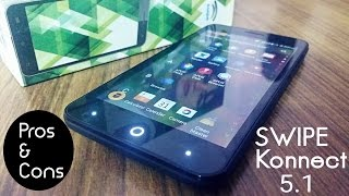 Swipe Konnect 5.1 (LIMITED EDITION) Unboxing & Quick Review with Pros & Cons!