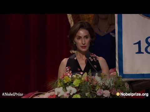 Bob Dylan speech at the 2016 Nobel Banquet