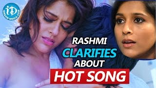 Anchor Rashmi Clarifies about her hot song from Guntur Talkies || Talking Movies with iDream