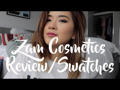 Zam Cosmetic Review and Swatches | SABRINA ATHIKA