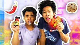 SPICY COOKIE CHALLENGE PRANK GONE WRONG!