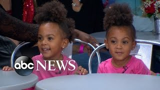 The Adorable 3-Year-Old McClure Twins Appear Live on 'GMA'