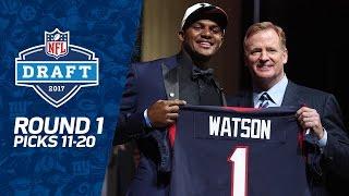 Picks 11-20: Another QB, Defense, & More Defense (Round 1) | 2017 NFL Draft