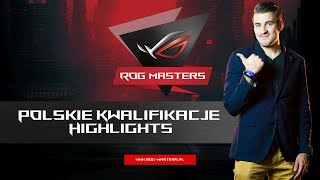 Najlepsi z najlepszych ROG MASTERS - Highlights