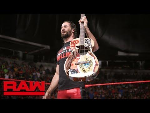 Seth Rollins destroys Elias' prized guitar: Raw, June 11, 2018