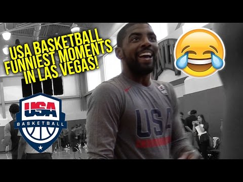 watch USA Basketball Funniest Moments at Las Vegas Training Camp | UNCENSORED