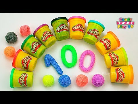 Xxx Mp4 Learn To Count With PLAY DOH Numbers 1 To 100 Squishy Glitter Foam Learn To Count For Children 3gp Sex