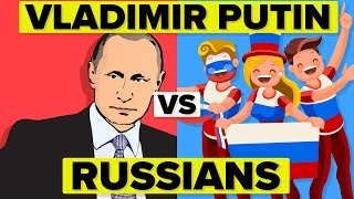 Vladimir Putin vs Average Russian - How Do They Compare